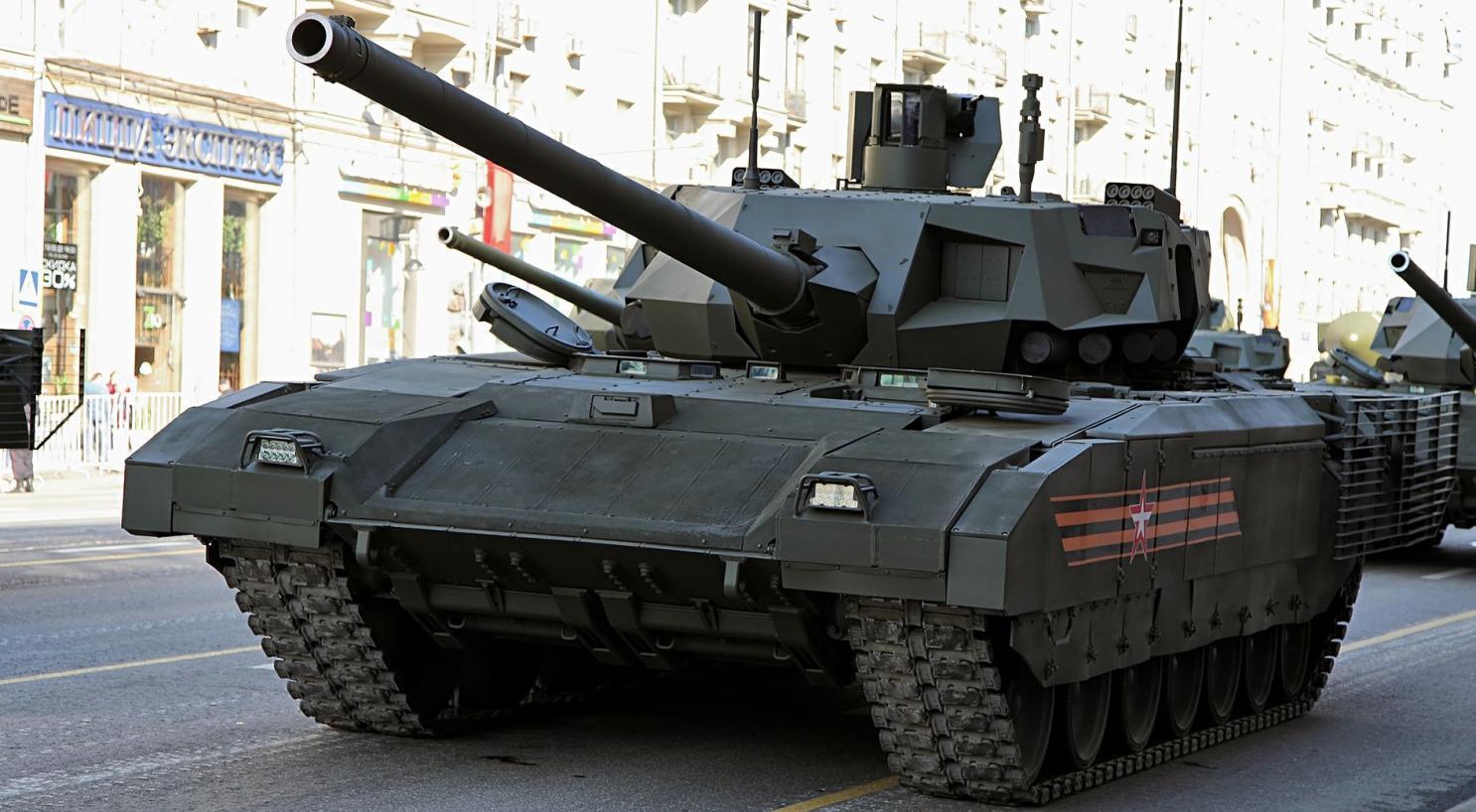 """俄军工称T-14""""阿玛塔""""坦克已通过无人驾驶测试"""