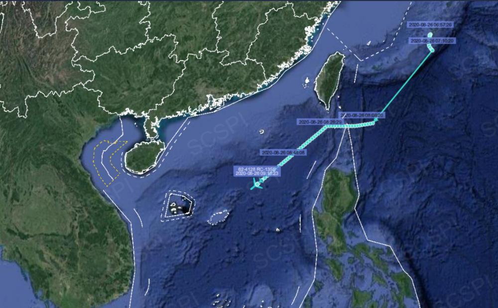 解放军在南海进行军事训练之际 美军侦察机逼近挑衅