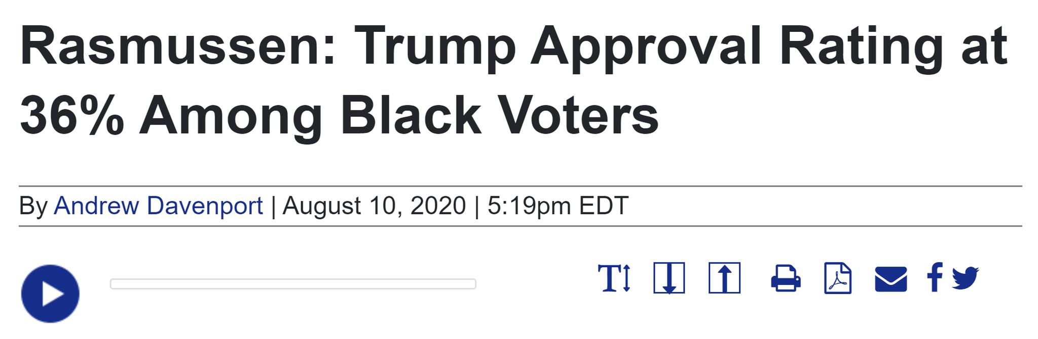 观察者网:民调又一次低估了特朗普和共和党