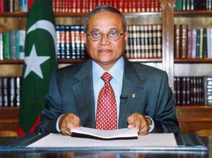马尔代夫前总统加尧姆确诊新冠肺炎