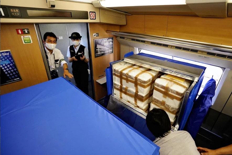 上座率锐减的日本新干线开展新业务:乘客海鲜一起运