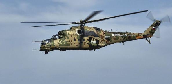 俄升级版米35P已量产 可执行打击运输等多种任务