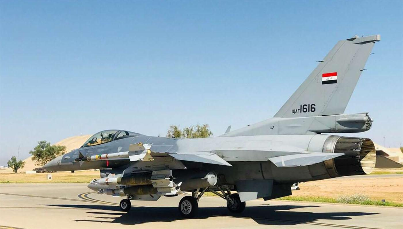 伊拉克飞行员:美国提供的F-16战斗机已经大量停飞