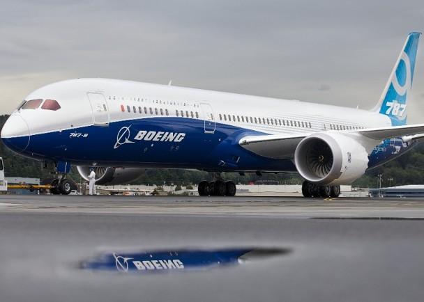 八架波音787型客机有制造缺陷 新加坡一架停飞