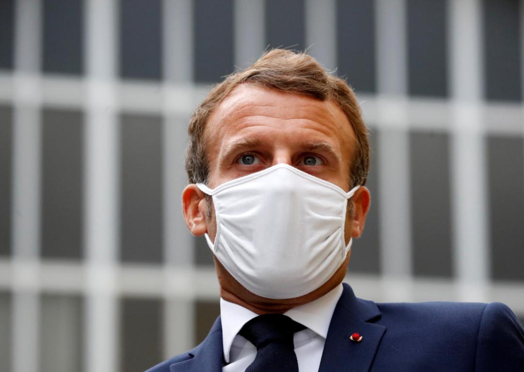 马克龙:不排除任何公司参与法国5G建设 包括华为