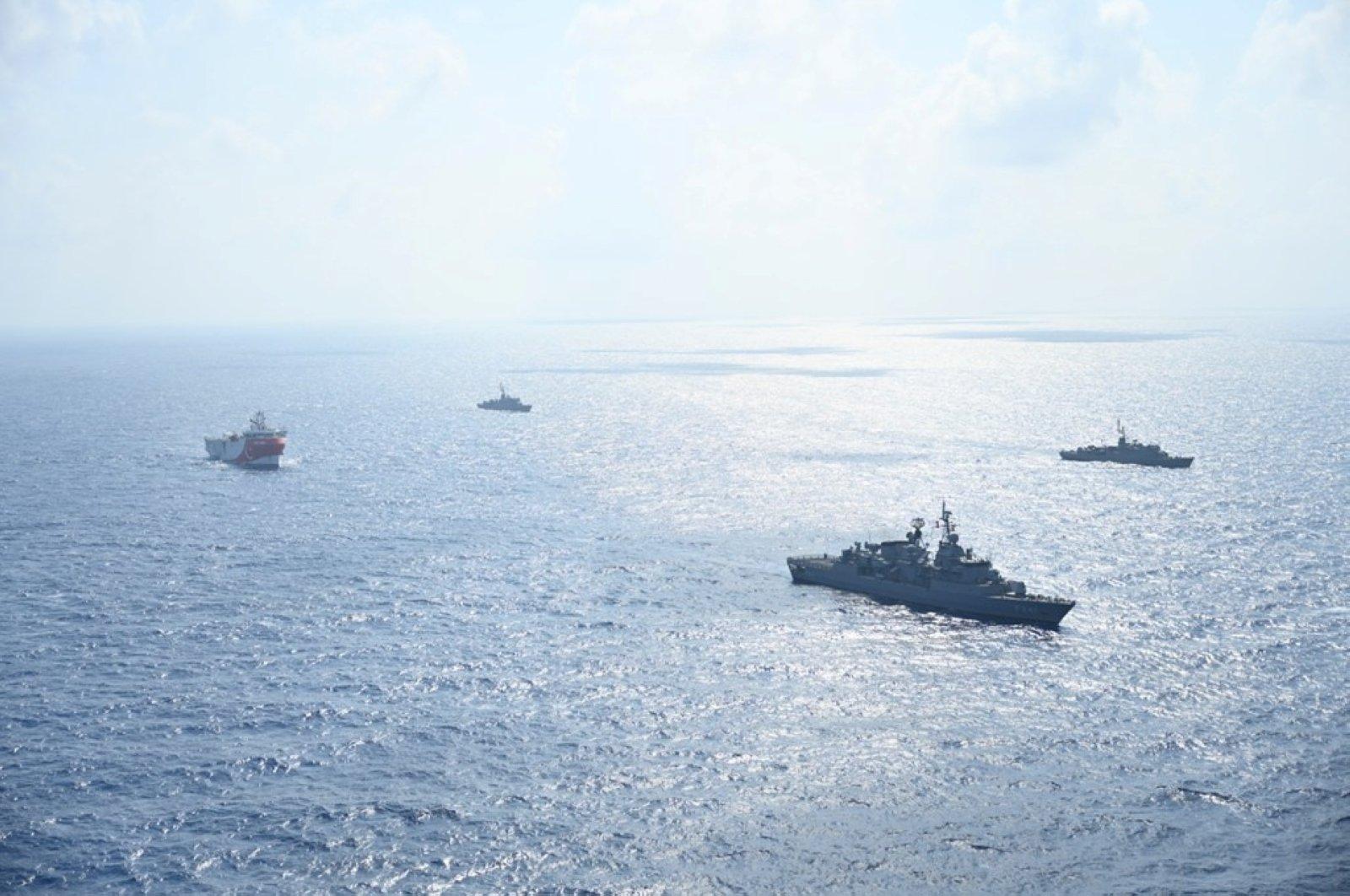 土耳其再发海上预警:将在东地中海举行射击演习