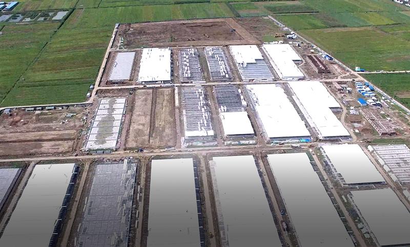 △新野县在建养猪场
