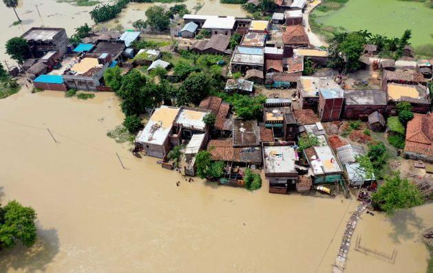 印度8月降水创44年最高纪录 比往年均值多25%
