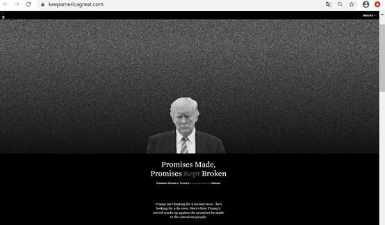 网站首页截图