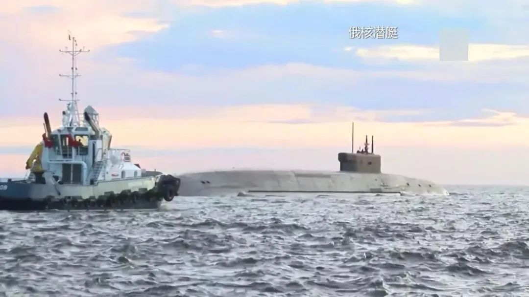 美最强核潜艇亮相俄家门口 俄迅速回应:我们没打瞌睡