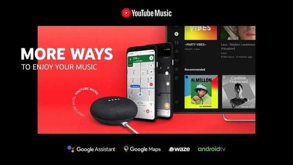 外媒:YouTube Music已获得对Google Assistant的支持