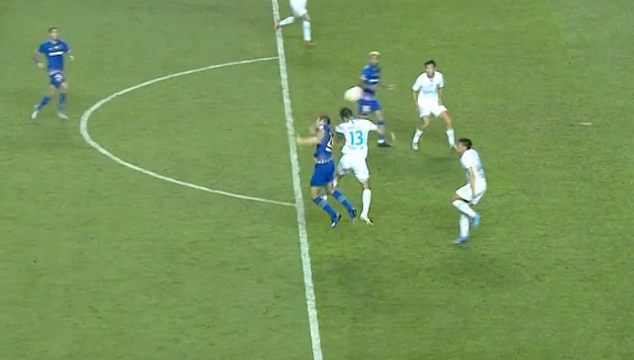 GIF:桑蒂尼造点,埃德尔命中!苏宁2-1大连人