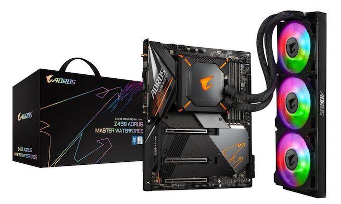技嘉推出Z490 Aorus Master WaterForce Combo水冷一体主板套装