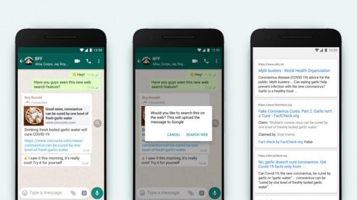 WhatsApp推出新工具帮助用户识别假新闻