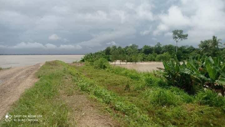 缅甸伊洛瓦底省一水坝决口 三座村庄被淹
