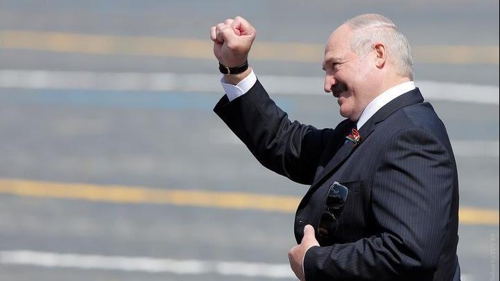 白俄罗斯总统卢卡申科发表国情咨文