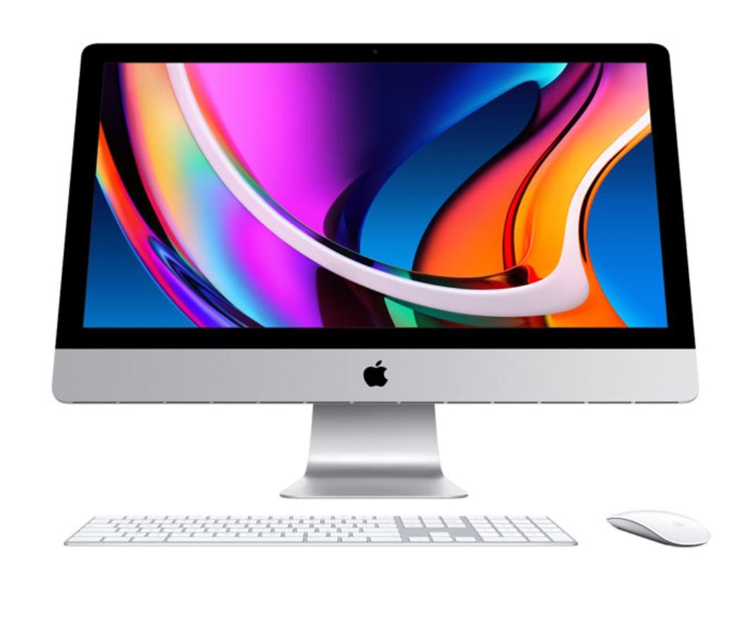 苹果发布 2020 款 iMac:升级十代酷睿 + Navi 显卡,依然大边框
