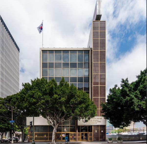 突发!韩国驻洛杉矶总领馆被紧急封锁(图)