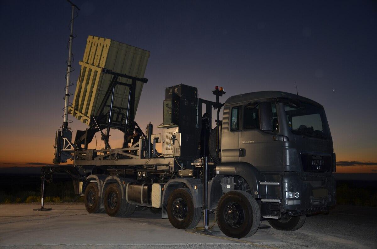 """美国将引进以色列""""铁穹""""反导系统"""