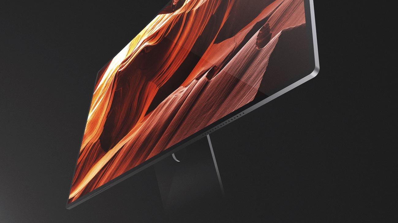 全新 iMac 概念渲染:窄边框、面容 ID、无线充电都齐了