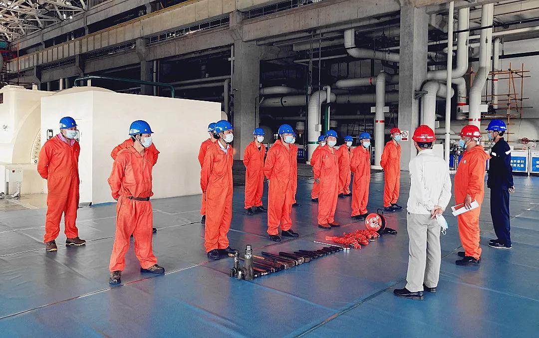 东方汽轮机完成国电南宁660MW超临界火电机组精益检修项目