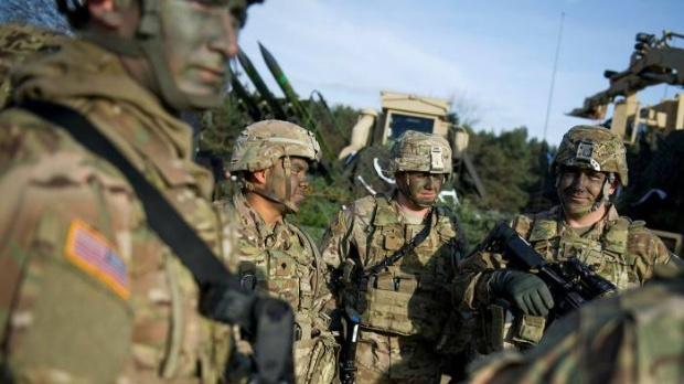 (美国在波兰已有4500名驻军 图片来源:《金融时报》)