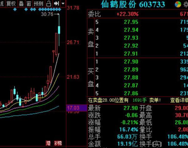 """活久见!换手106% 17亿流通市值 成交金额19亿!仙鹤股份太""""仙""""?公司这样回应"""
