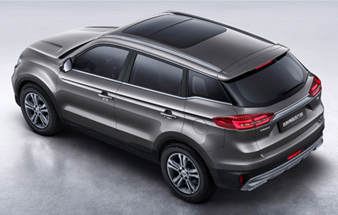 吉利博越新款车型上市9.98万元起/换全新外观