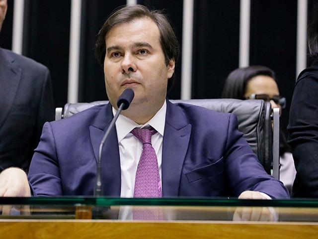 (图为巴西国会众议院议长罗德里戈·马亚 图片来自巴西国会网站)