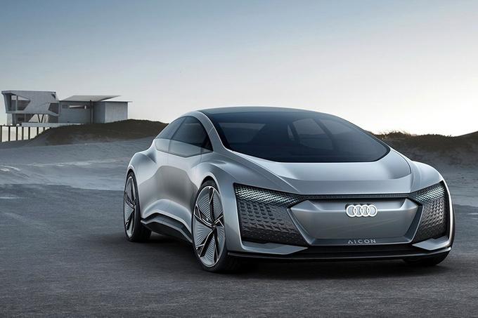 奥迪新电动概念车曝光 配自主驾驶功能叫板特斯拉