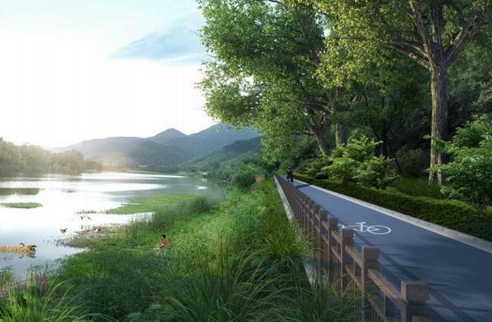 恒耀app官网:两山绿道一期即将动图片