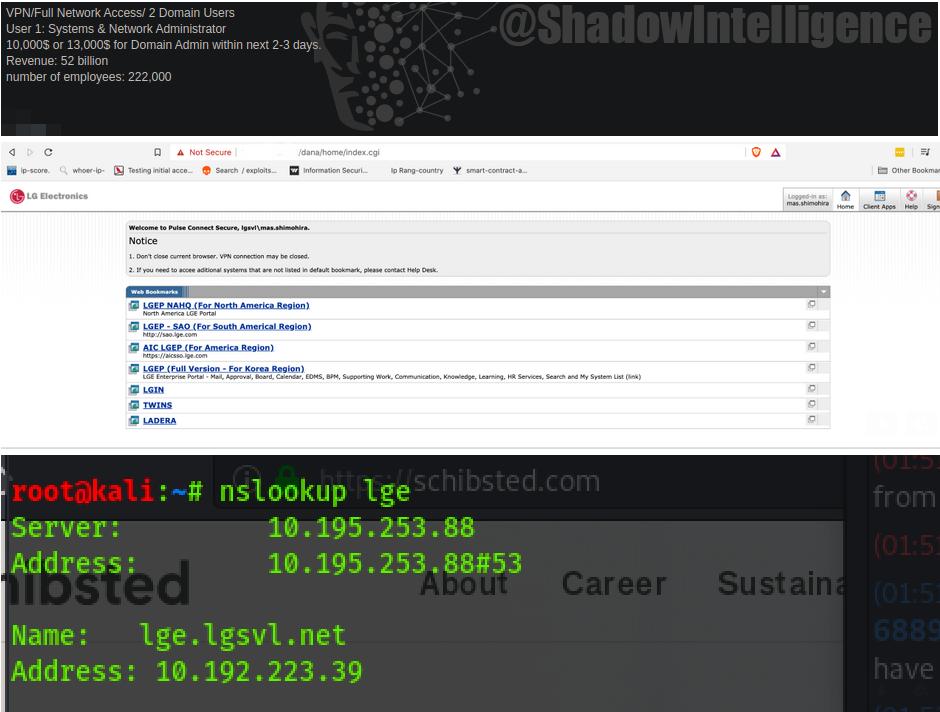 勒索软件Maze公开数十GB的LG和施乐内部数据