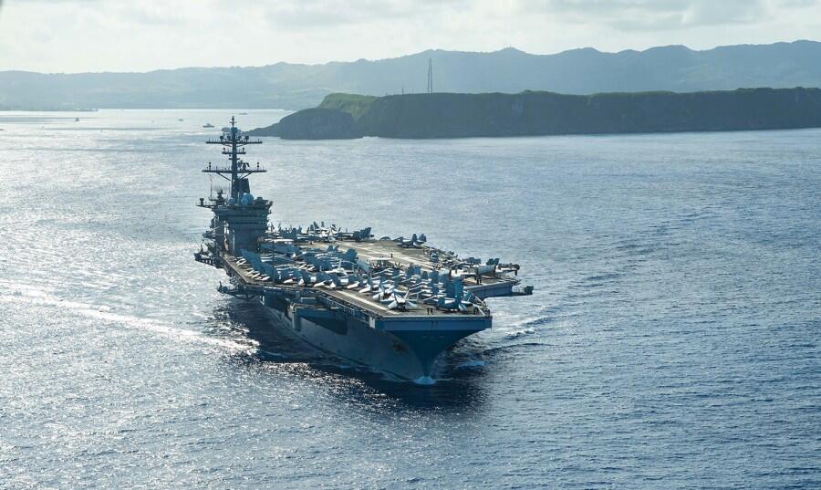 曾暴发疫情的美军航母又迎新舰长 4个月内连换3任