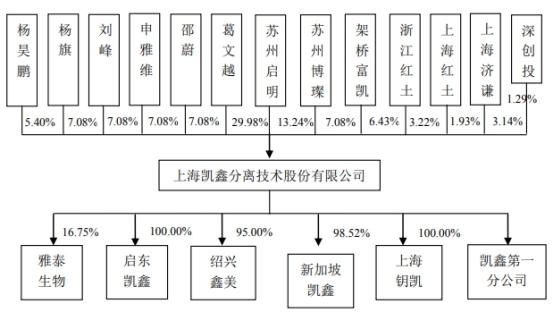 上海凯鑫去年员工85人应收账款过亿 专利少毛利率降