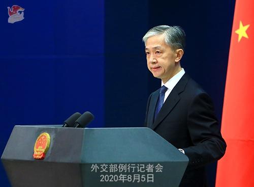 蓬佩奥称会保护所有目前身在海外的香港活动人士 外交部回应
