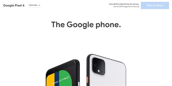 不到一年就停产!谷歌确认Pixel 4/4 XL退场