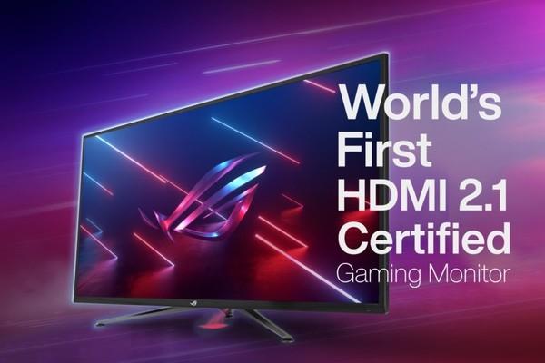 ROG全球首款HDMI 2.1认证显示器