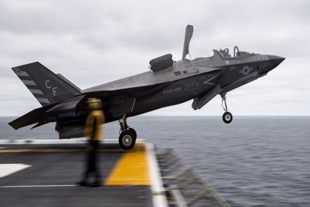 韩国为其未来航母物色舰载机最可能型号是F35B