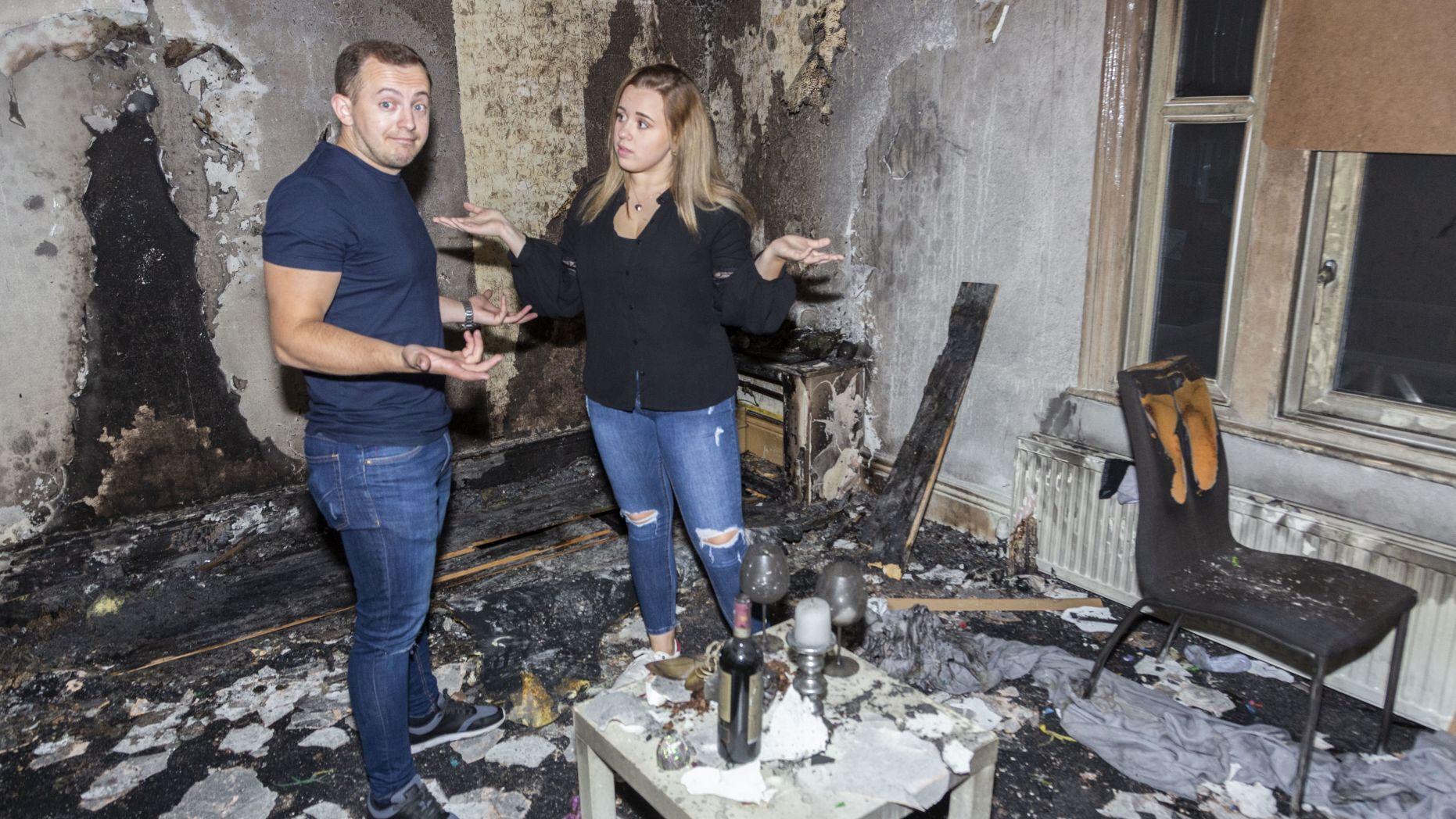 英国男子点数十支蜡烛求婚 却意外烧毁公寓