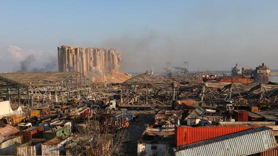 贝鲁特市长:港口爆炸造成的经济损失或高达150亿美元