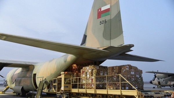 阿曼向黎巴嫩提供紧急人道主义援助