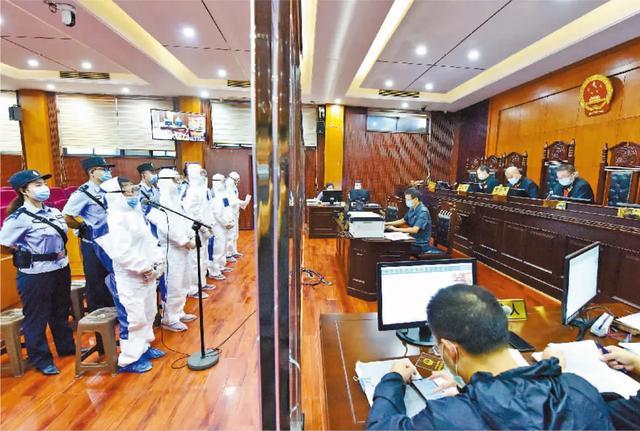 疫情防控执法办案两不误 湖北5法院21案在枣阳集中开庭