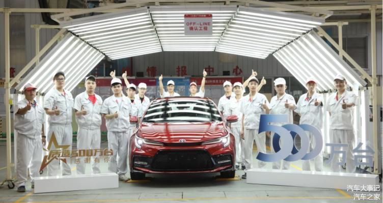 广汽丰田全系车型在7月销量同比增长20%,难道它真的那么香?