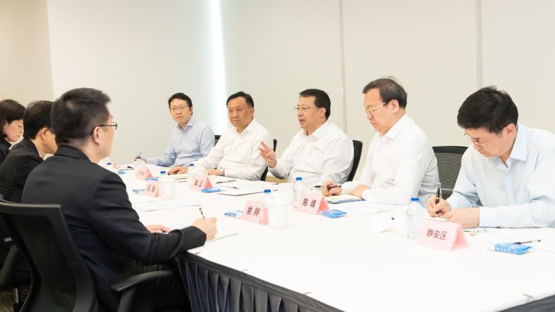 """上海市长走访路威酩轩、毕马威中国及恒隆集团,对外企提出""""三个坚定不移"""""""