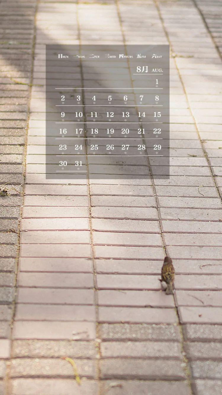 师大月历丨立秋节气,莫负时光