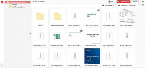 英特尔至少20GB机密资料外泄 涉及芯片开发工具、源代码等