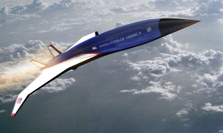 美军着手打造高超音速飞机从纽约到伦敦只要90分钟