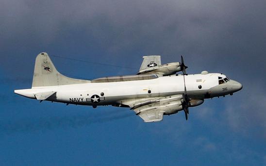美国水师EP-3E电子侦察机