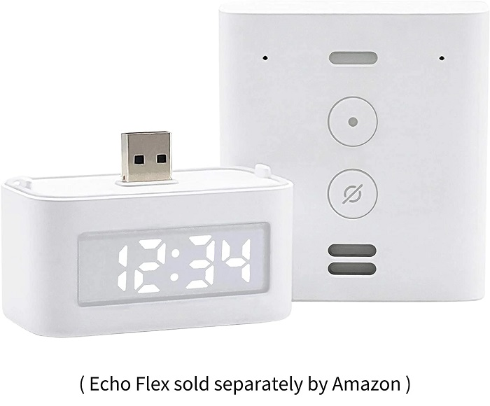 亚马逊开售Echo Flex数字时钟 支持Alexa智能语音交互