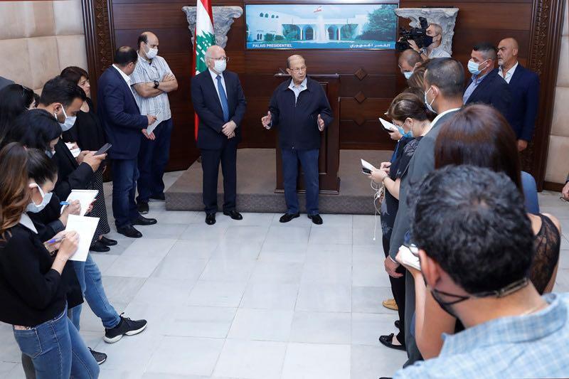 黎巴嫩总统奥恩:贝鲁特港口爆炸事件涉事人员将接受法庭的公开审判